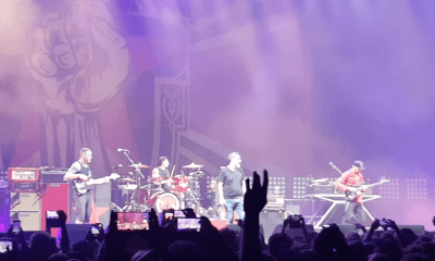 Serj Tankian sings with Prophets Of Rage in tribute to Chris Cornell