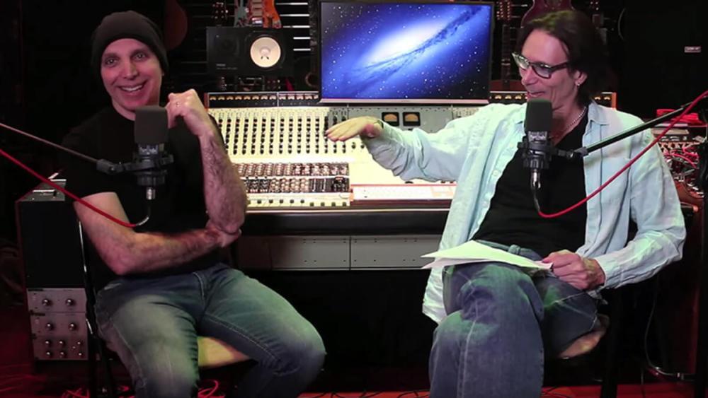Joe Satriani and Steve Vai interview