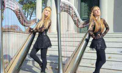 Watch The Harp Twins Performing Metallica's Fade To Black