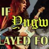 What if Yngwie Malmsteen played in Metallica, Queen, Ozzy and others