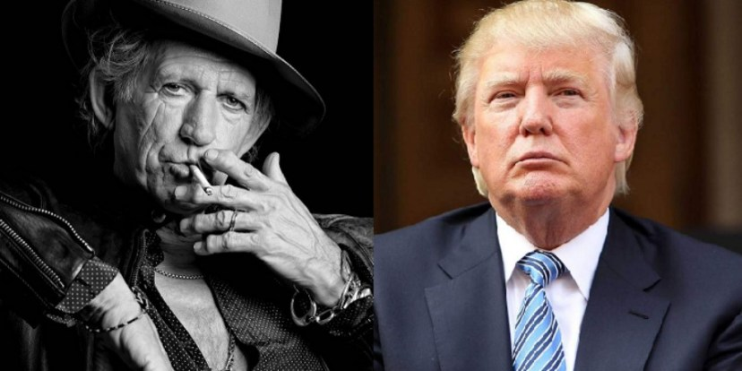Richards and Trump