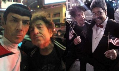 Bob Dylan and Mr Spock
