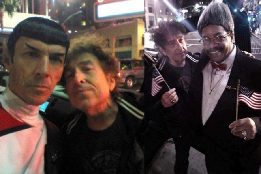 Bob Dylan and Mr Spock