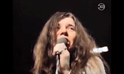 Janis Joplin amazing rare concert on German TV