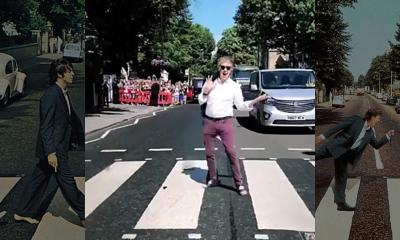 Paul McCartney on Abbey Road again