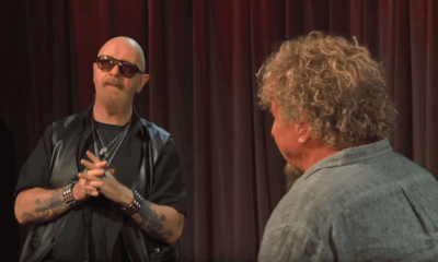 Rob Halford and Sammy Hagar