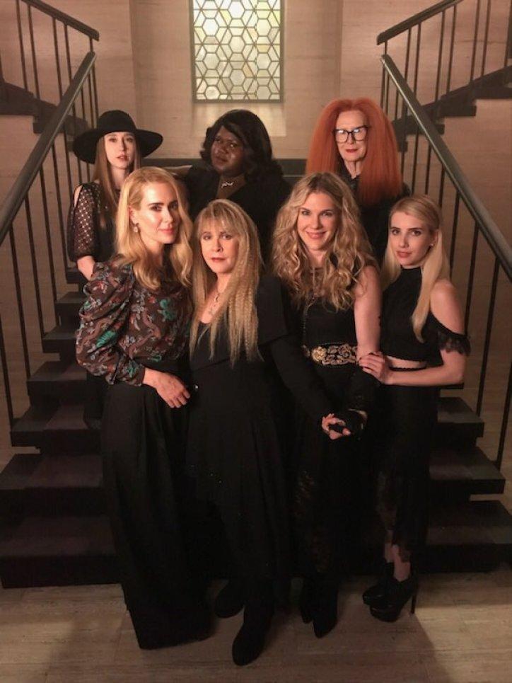 Stevie Nicks on American Horror Story Apocalypse