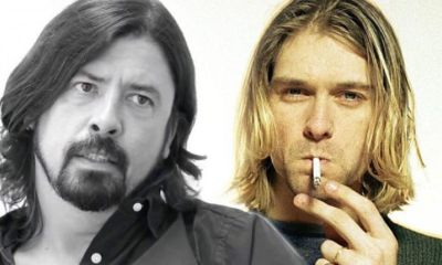 Dave Grohl and Kurt Cobain