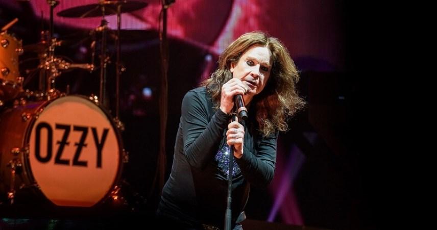 Ozzy Osbourne onstage