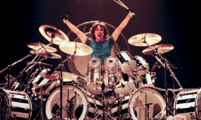 Alex Van Halen on drums