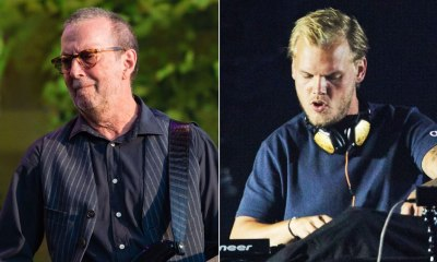 Avicii and Eric Clapton