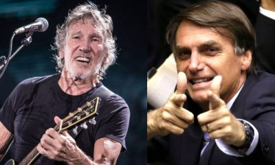 Roger Waters and Jair Bolsonaro