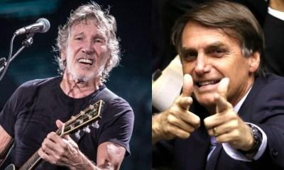 Roger Waters and Jair Bolsonaro
