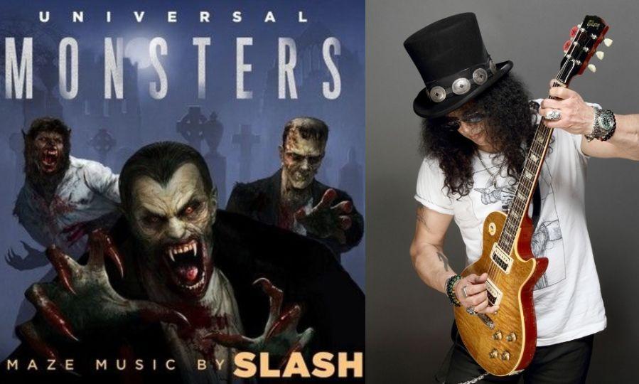 Universal Monsters and Slash