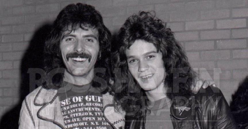 Tony Iommi and Van Halen