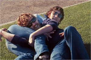 John Lennon and Harry Nilsson
