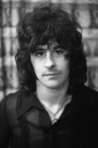 February 1970, Margate, Kent, England, UK --- Tom Evans, Bassist of Badfinger --- Image by © Shepard Sherbell/CORBIS