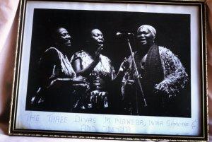 miriam with Nina Simone