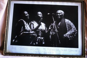 miriam with Nina Simone