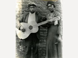 Blind Willie McTell with wife