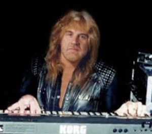 geoff nicholls, keyboardist for Black Sabbath