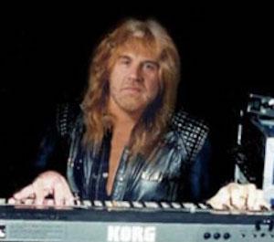 geoff nicholls, keyboardist for Black Sabbath