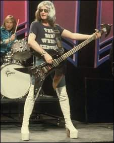 Overend Watts, bass player for Mott the Hoople