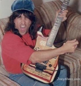 Joey Alves rhythm guitar for Y&T