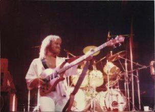 Steve Lang bassist for April Wine