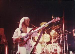 Steve Lang bassist for April Wine