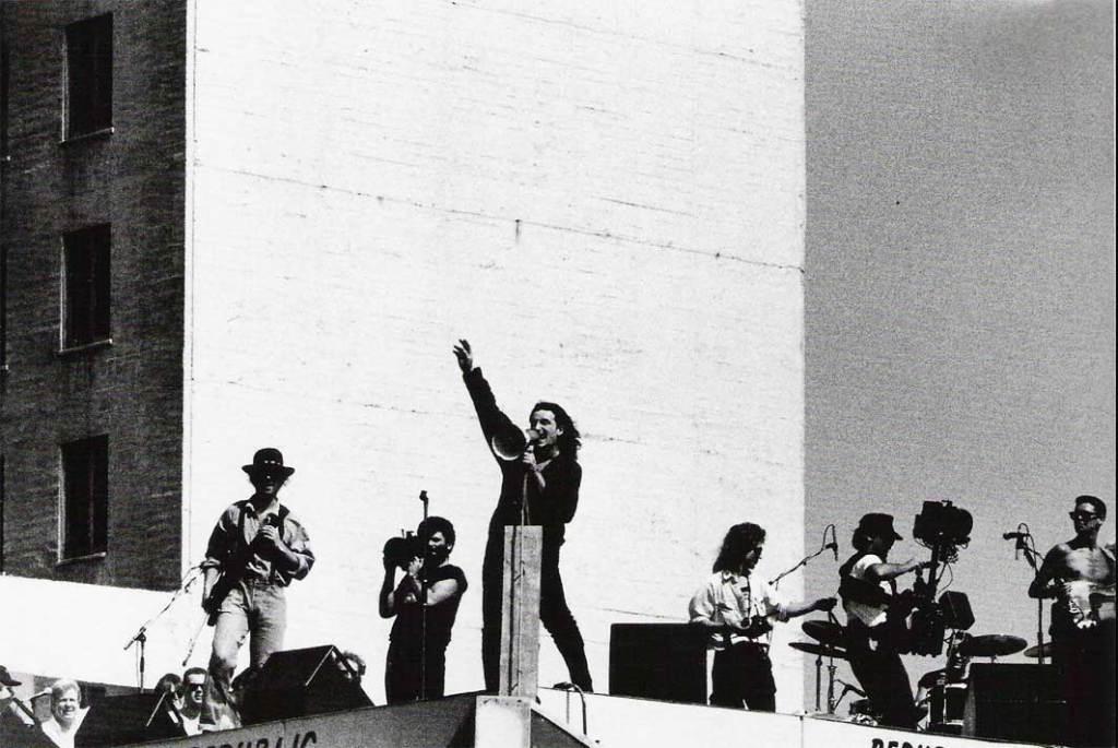 1987 U2 Rooftop Concert