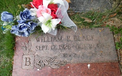 "Buried Here – William ""Bill"" Black, Jr. Of Elvis Presley's Backup Band"