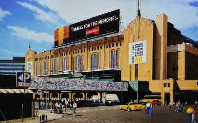 """Boston Garden – Originally Known As """"Boston Madison Square Garden"""""""