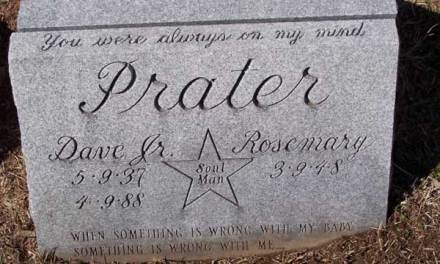 Buried Here – Dave Prater, Founder Of The Soul Music Group Sam & Dave