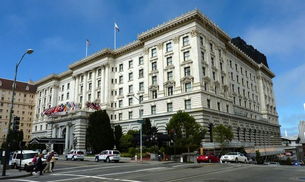 Fairmont Hotel – I Left My Heart In San Francisco First Sang Here