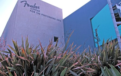 Fender Center for the Performing Arts – a 50-year history of Fender electric guitars
