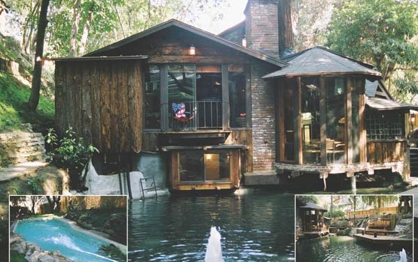 Frank Zappa's House In Laurel Canyon