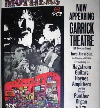 Garrick Theatre, A Former Concert Venue In New York