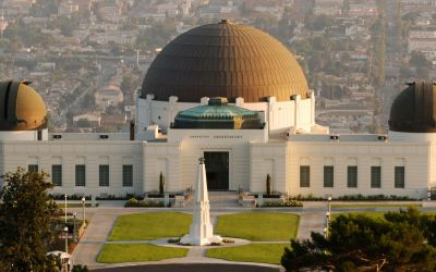 Griffith Observatory – Site Of Jim Morrison Photoshoot