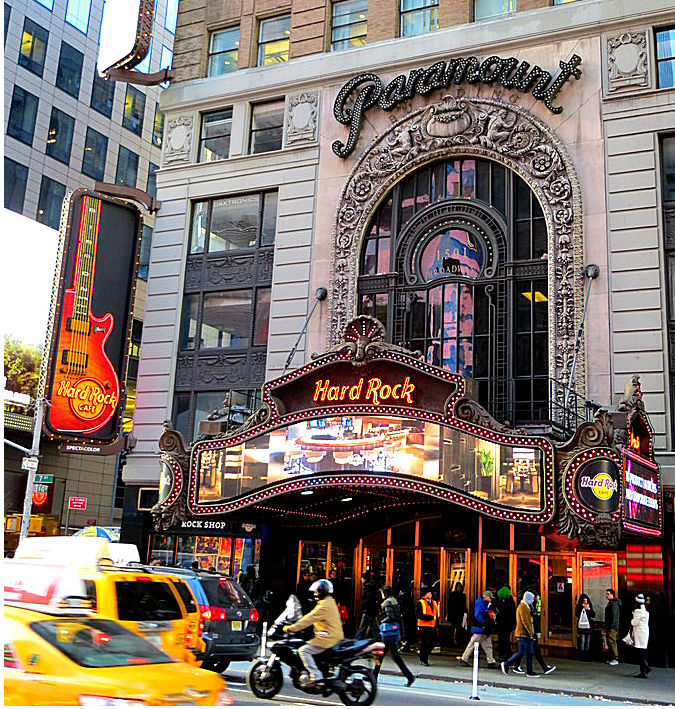 Hard Rock Cafe Broadway New York Ny