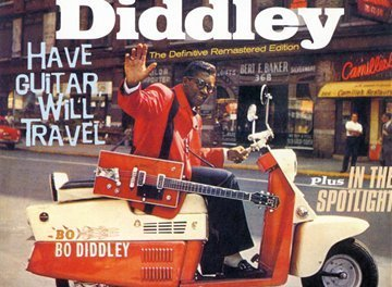"""Have Guitar Will Travel"" By Bo Diddley Album Cover Location"