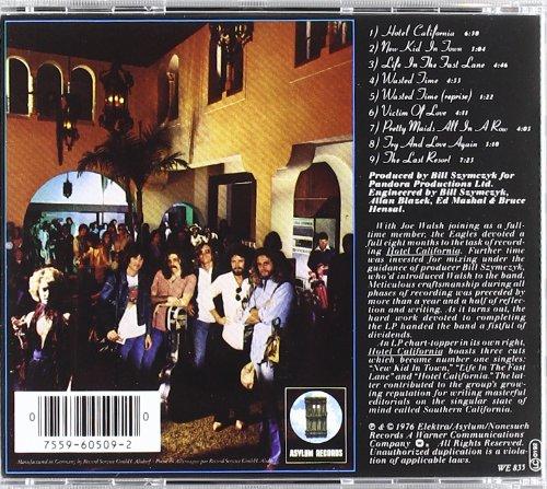 Hotel California Album Inside Picture