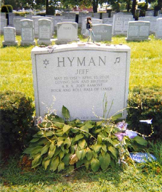 Joey Ramone Headstone