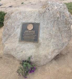 John Denver Memorial Plaque