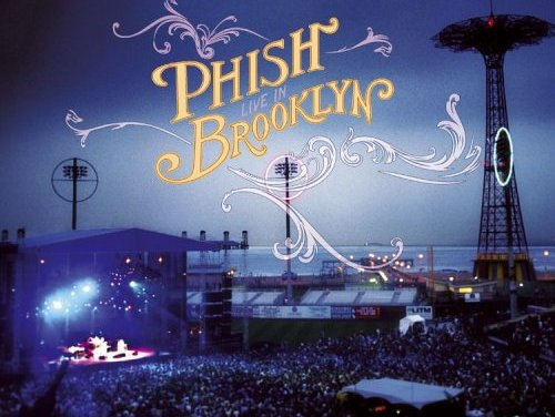"""""""Live in Brooklyn"""" By Phish Album Cover Location"""