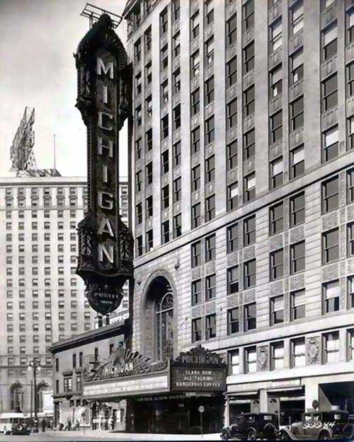 Fox Theater Mi: Michigan Palace In Detroit, The Last Iggy & The Stooges
