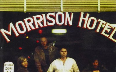 Morrison Hotel by The Doors Album Cover Location