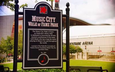Music City Walk of Fame In Nashville