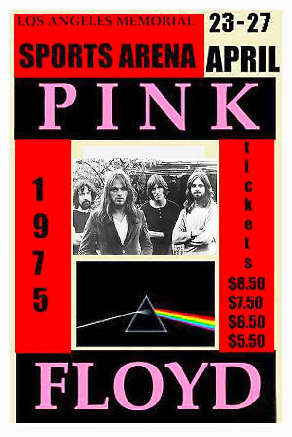 Pink Floyd At LA Memorial