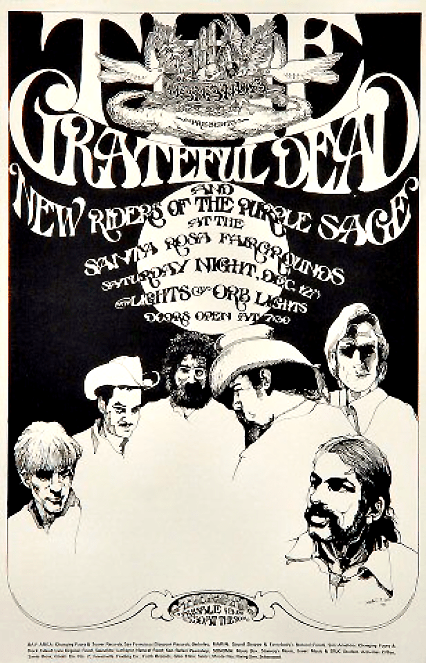Poster For Santa Rosa Fairgrounds